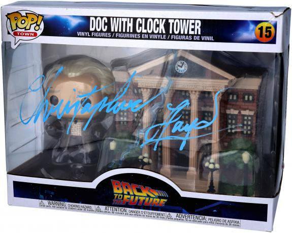 Christopher Lloyd Back to The Future Autographed #15 Funko Pop!