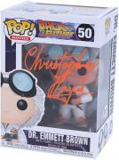 Christopher Lloyd Back to The Future Autographed #50 Funko Pop!