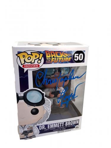 Christopher Lloyd Back To The Future (Dr Emmett Brown) Signed Funko Pop JSA