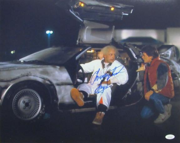 """Christopher Lloyd """"Back to the Future"""" Signed/Autographed 16x20 Photo JSA 159848"""