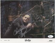 CHRISTOPHER LLOYD HAND SIGNED 8x10 COLOR PHOTO     ADDAMS FAMILY    RARE     JSA