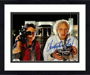 Christopher Lloyd Signed 8x10 Back to the Future Photo PSA/DNA ITP