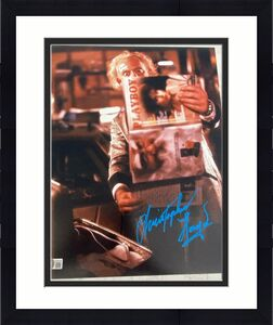 """CHRISTOPHER LLOYD SIGNED AUTOGRAPH 11x14 """"BACK TO THE FUTURE"""" PHOTO BECKETT G"""
