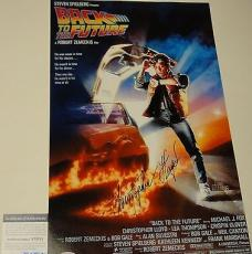 Christopher Lloyd Signed 'back To The Future' 11x17 Poster Psa/dna Coa V73701