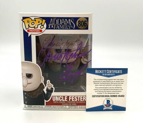 Christopher Lloyd Signed The Addams Family Funko Pop Autograph Beckett Bas 10
