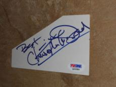 Christopher Mcdonald Signed New! 3x5 Index Card Autographed Psa/dna Cert #q33389