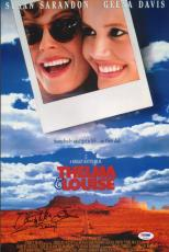 Christopher McDonald Signed Thelma & Louise 11x17 Photo Movie Poster PSA/DNA COA
