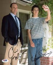 Christopher Meloni & Connor Buckley Signed 8X10 Photo PSA/DNA #W11357