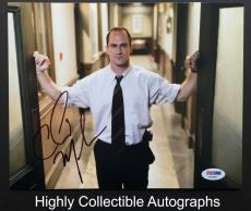 Christopher Meloni Signed 8x10 Photo Autograph Psa Dna Coa Law & Order