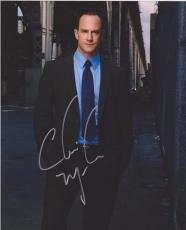 Christopher Meloni Signed 8x10 Photo Law & Order Svu