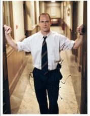 Christopher Meloni Signed Autographed 8x10 Photo Law & Order SVU COA VD