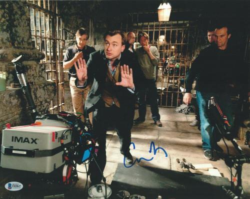 Christopher Nolan Signed 11x14 Photo Dark Knight Beckett Bas Autograph Auto A