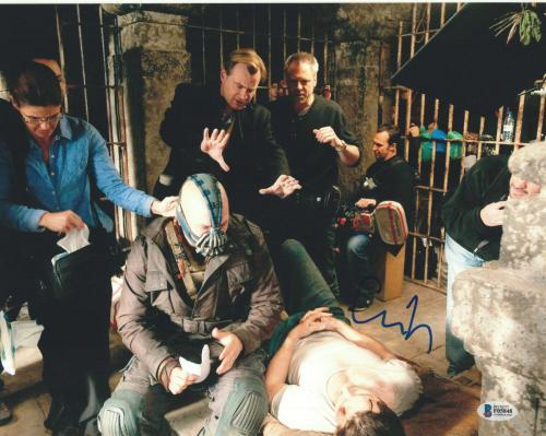 Christopher Nolan Signed 11x14 Photo Dark Knight Beckett Bas Autograph Auto B