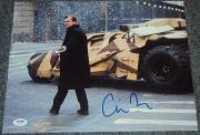 Christopher Nolan Signed Autograph Dark Knight Rises 11x14 Photo Psa/dna W55717