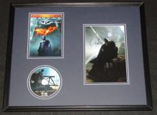Christopher Nolan Signed Framed 16x20 Dark Knight DVD & Photo Display JSA Batman