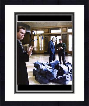"Christopher Nolan The Dark Knight Autographed 11"" x 14"" Photograph"