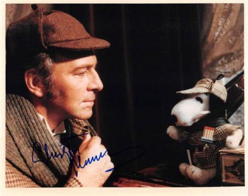 Christopher Plummer Autographed Photo Sherlock Holmes 1979 Murder By Decree 67 Size 8x10 Image 5 1 T8238379 500