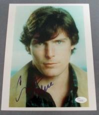 Christopher Reeve (D. 2004) Signed 8x10 Photograph JSA LOA Superman