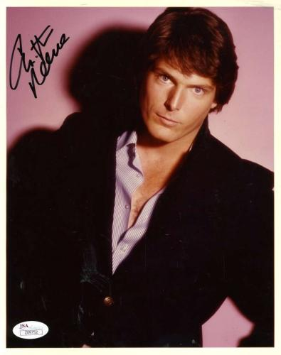 Christopher Reeve Jsa Coa Autograph 8x10 Hand Signed Photo Authenticated