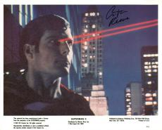 Christopher Reeve Signed Superman II Publicity 8X10 Photo JSA #Q35717
