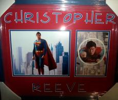 Christopher Reeve Superman Movie Legend Signed Autograph Matted & Framed Jsa Loa