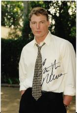 Christopher Reeve Superman Movie Legend Signed Autographed 4x6 Photo W/coa Rare