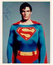 Christopher Reeve Superman signed 8x10 photo BAS Beckett Authentication