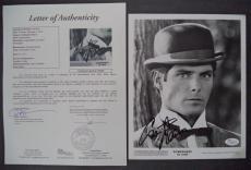 Christopher Reeve Superman Signed Autographed 8x10 B/w Photo Jsa Loa #z09445
