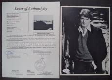 Christopher Reeve Superman Signed Autographed 8x10 B/w Photo Jsa Loa #z09446