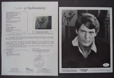 Christopher Reeve Superman Signed Autographed 8x10 Photo Rare Jsa Loa #z09518