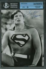 Christopher Reeves Signed Autographed 6x8 Super Man Photograph JSA