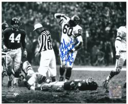 "Chuck Bednarik Philadelphia Eagles Autographed 8"" x 10"" Photograph with ""HOF 67"" Inscription - Mounted Memories"