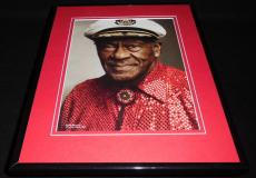 Chuck Berry 2010 Framed 11x14 Photo Display