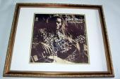 Chuck Berry Autographed Signed Back Home Album JSA Cert   AFTAL