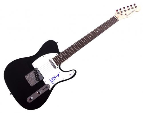 Chuck Berry Autographed Signed Tele Guitar PSA Y66794 UACC RD COA AFTAL