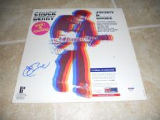 Chuck Berry Johnny B Good Signed Autographed LP Album Record PSA Certified