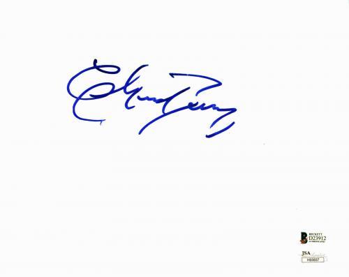 Chuck Berry Musician Signed 8x10 Photo Autographed BAS #D23912