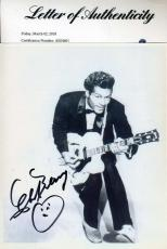 CHUCK BERRY PSA DNA Hand Signed 8x10 Photo Authentic Autograph