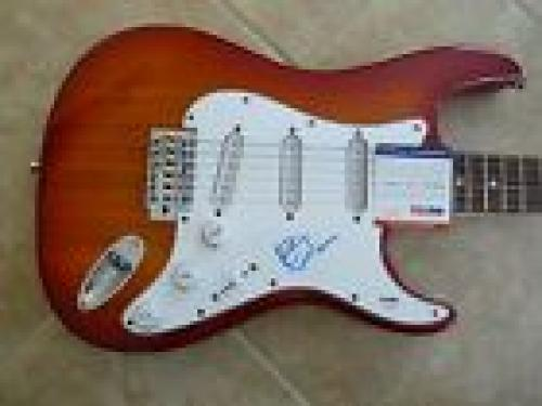 Chuck Berry RARE Signed Autographed Music Electric Guitar PSA Certified