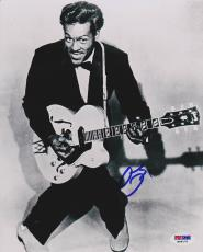 Chuck Berry SIGNED 8x10 Photo Johnny B. Goode Rock & Roll PSA/DNA AUTOGRAPHED