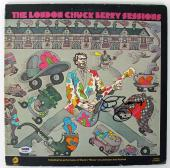 Chuck Berry Signed Album Cover w/ Smiley Face Sketch PSA/DNA #AB43088