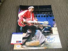 Chuck Berry Signed Autographed 11x14 Live Photo Johnny B Good #13 PSA Certified
