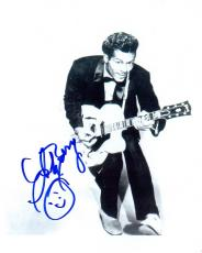 Chuck Berry Signed - Autographed Legendary Singer 8x10 inch Photo - Deceased 2017 - Guaranteed to pass PSA or JSA