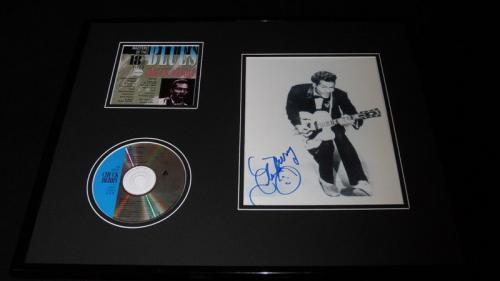 Chuck Berry Signed Framed 16x20 CD & Photo Set