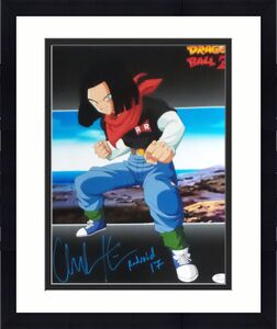 Chuck Huber Android 17 Dragonball Z Signed Autographed 11x14 Photo JSA 2