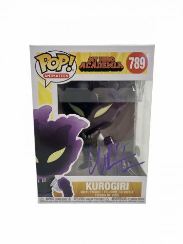 Chuck Huber Autograph Signed Funko Pop My Hero Academia Kurogiri #789 JSA COA