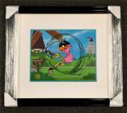 CHUCK JONES signed Daffy Duck PAR NONE Animation Cel LE # /240 ~ WARNER BROS COA
