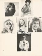 Chuck Mangione & Evelyn King Music Legends Dual Signed Auto 8x10 Book Page W/coa