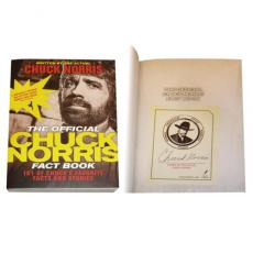 Chuck Norris Autographed The Official Chuck Norris Fact Book