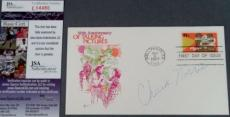 Chuck Norris Signed FDC First Day Issue Cachet Envelope JSA COA